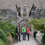 noi al Castello di Cawdor e giardini, Scozia