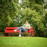 io al Castello di Cawdor e giardini, Scozia