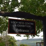 Loch Ness cartello di entrata al museo