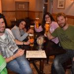 una cena con birra a Portree