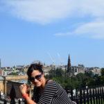 io a Edimburgo, Scozia