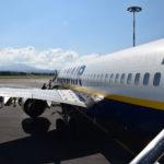 il nostro aereo per la Scozia