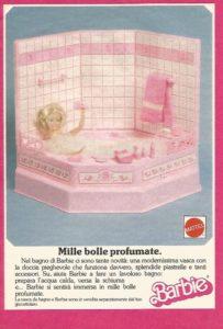 la vasca di Barbie