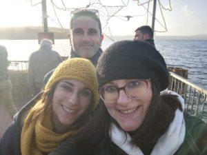 io, mio fratello e mia sorella ad Anguillara Sabazia