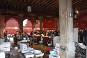 mercato del pesce Venezia
