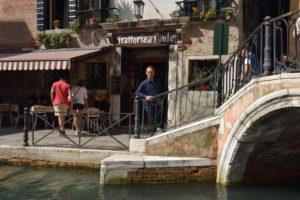io e Paolo in giro per Venezia per Ithappens