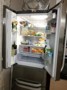 frigorifero aperto