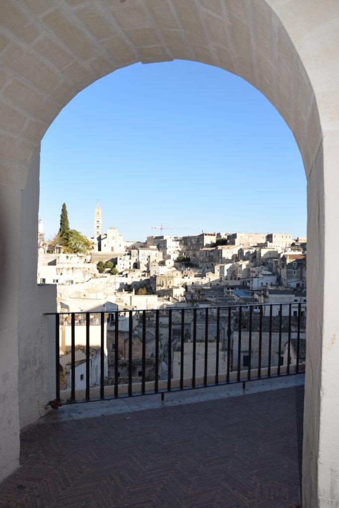 affaccio dalla piazza principale di Matera