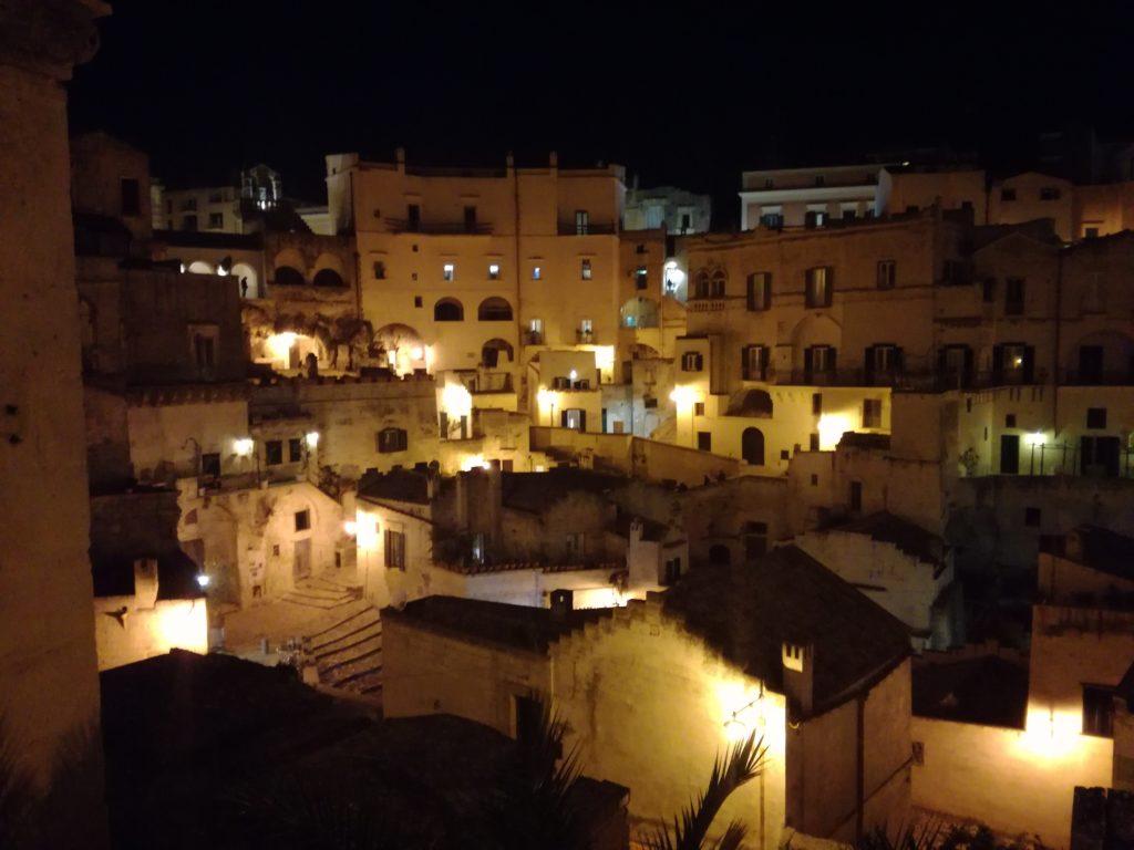 veduta dal balcone del ristorante Regia Corte