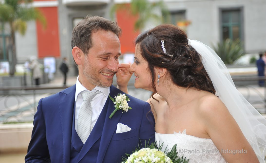 Claudia e Paolo sposi