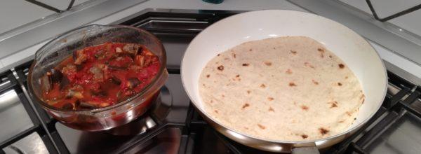 Piadine alla siciliana e compromessi in cucina